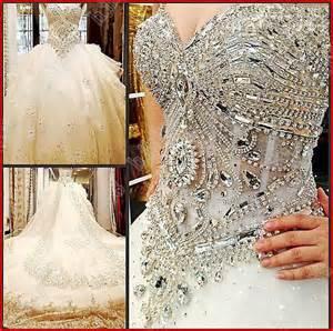 yz luxury crystal bright beautiful dream wedding