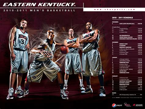 design poster basketball sports graphic design for 2010 2011 eku womens basketball