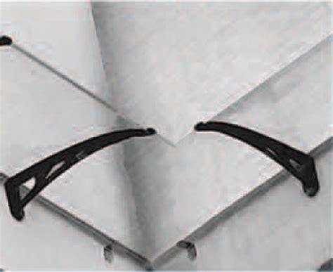 tettoia in policarbonato alveolare pensilina pensiline tettoia angolo interno coprente