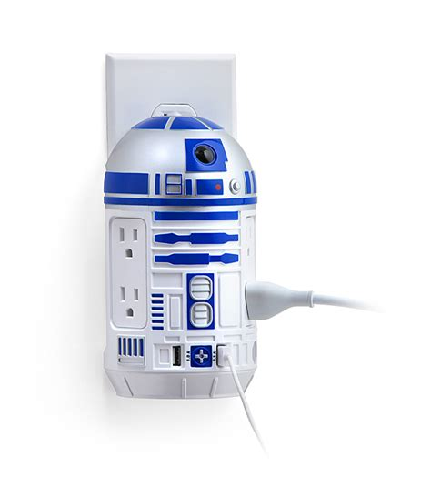 r2d2 phone charger wars r2 d2 ac usb power station thinkgeek