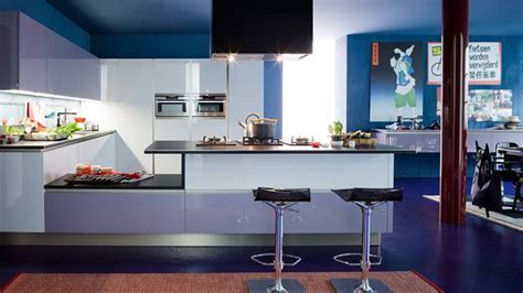 amazingly cool blue kitchen ideas home design lover