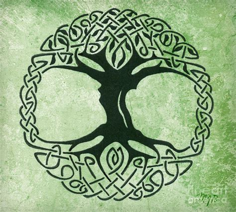 celtic tree of life canvas print canvas art by mindy