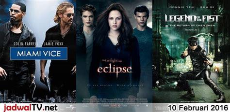 jadwal film indonesia februari 2016 jadwal film 10 februari 2016 jadwal tv