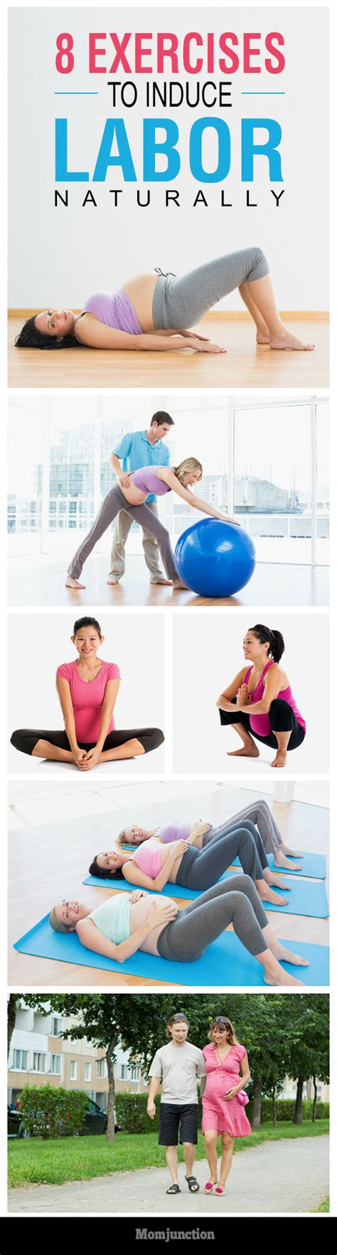 8 Ways To Induce Labour by 8 Effective Exercises To Induce Labor Naturally Labour