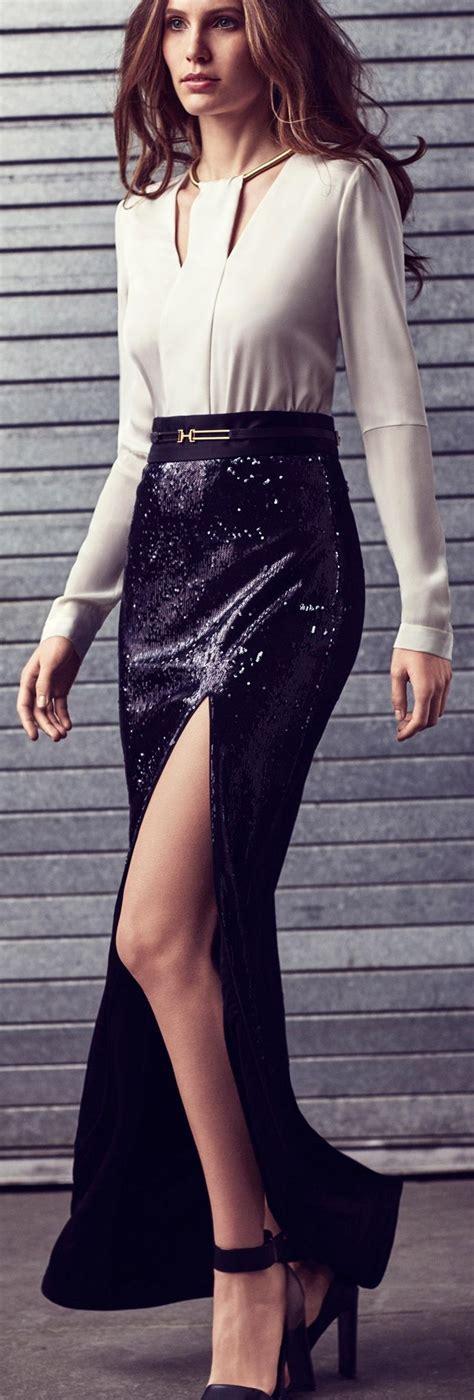 Fashion Wanita Slit Maxi Terlaris s fashion heritage slit sequined maxi skirt www puddycatshoes fashion