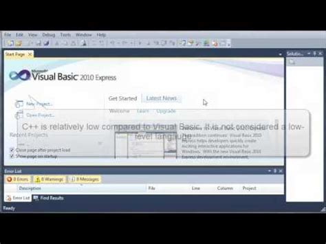 tutorial visual basic indonesia visual basic tutorial 1 what is visual basic ted ed