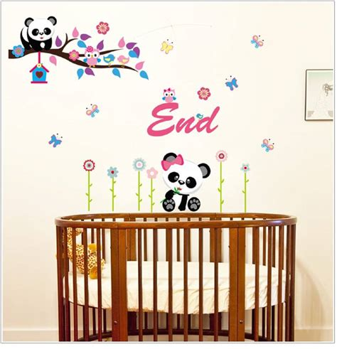 Wall Sticker Uk 60 X 90 buy panda owl wall sticker 60 cm x 90 cm