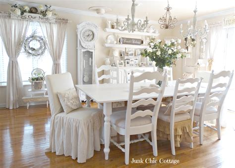Cottage Dining Room Furniture Junk Chic Cottage Dining Room Reveal