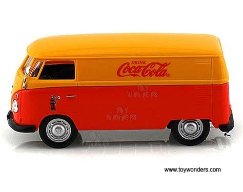 orange volkswagen van 1962 volkswagen panel van 434481 1 43 scale motor city