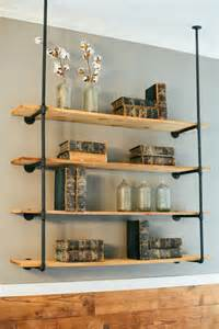 Diy Kitchen Shelving Ideas fixer upper diy pipe shelves iron pipe shelves diy floating farmhouse