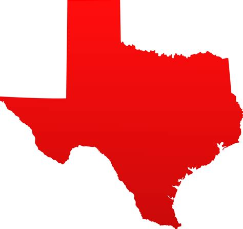 texas map clipart texas state design free clip
