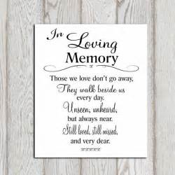 memory cross template wedding memorial table in loving memory printable memorial