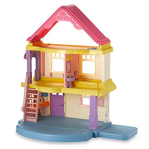 fisher price my first dolls house fisher price 174 my first dollhouse buybuy baby