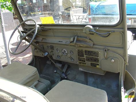 willys jeep interior 1952 willys jeep m 38 interior gtcarlot com