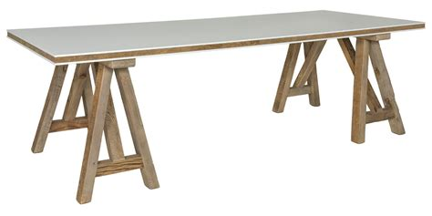 Safavieh Dining Table Reclaimed Rustic Fixed Wood Dining Table Safavieh