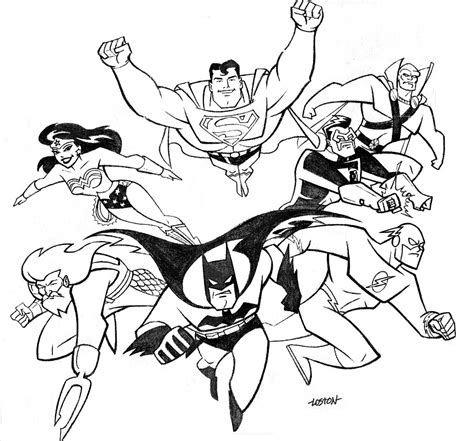 Justice League Coloring Pages To Print justice league coloring pages az coloring pages