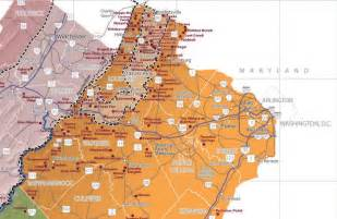 Virginia Wine Map wineries in virginia map images