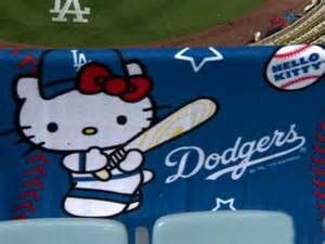 Dodger Game Giveaways - dodgers game sells out due to hello kitty blanket giveaway 171 cbs los angeles