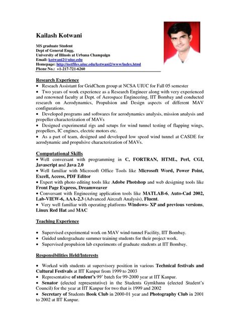 Work Experience On Resume by How To Write A Resume With No Work Experience Sle