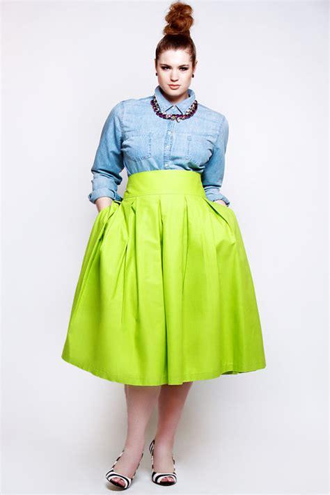 Bigsize Midi Flare Skirt Berkualitas jibri high waist chartreuse green pleated skirt by jibrionline