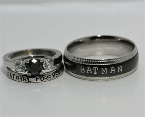 1000  ideas about Batman Wedding Rings on Pinterest