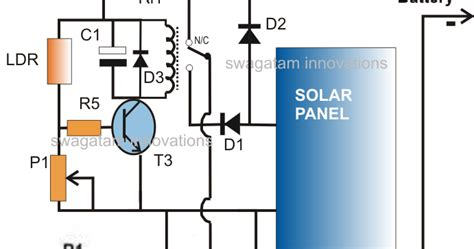 Simple Solar L Circuit by Solar Inverter Charger Circuit For Science Project