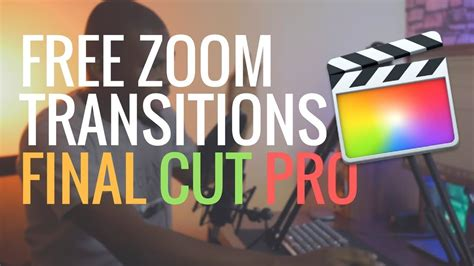 final cut pro zoom transition free zoom transitions for final cut pro x users youtube