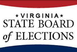 candidate list virginia department of elections links gop