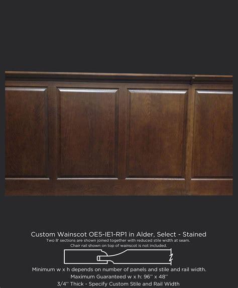 Custom Wood Wainscot Taylorcraft Cabinet Door Company Wainscoting Cabinet Doors