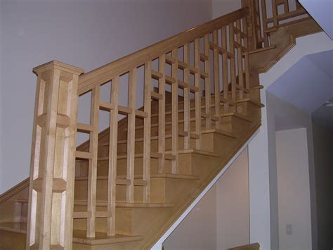 banister and baluster stair railings