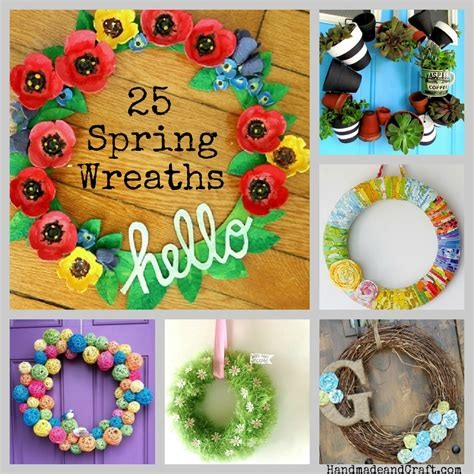 Home Decor Handmade Crafts - 25 wreaths diy decor on handmade and craft