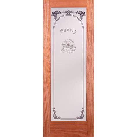 Feather River Doors 30 In X 80 In Pantry Woodgrain 1 Interior Pantry Doors
