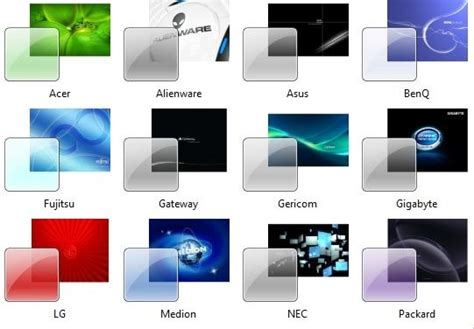 themes for windows 7 lenovo download 20 beautiful oem themes for windows 7