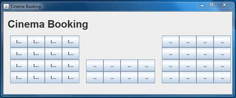 grid layout of buttons java grid layout implementing specific buttons