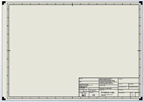 Autocad Mechanical Drawing Templates Free Download Templates Resume Exles V0a2wmwyr4 Solidworks Drawing Template