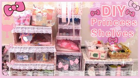 Kawaii Decor by Diy Room Decor Make Your Own Princess Shelves Easy