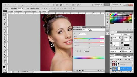 changing background color in photoshop how to change background color with photoshop cs4 cs5 cs6