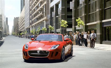 jaguar f type us commercials released 187 autoguide