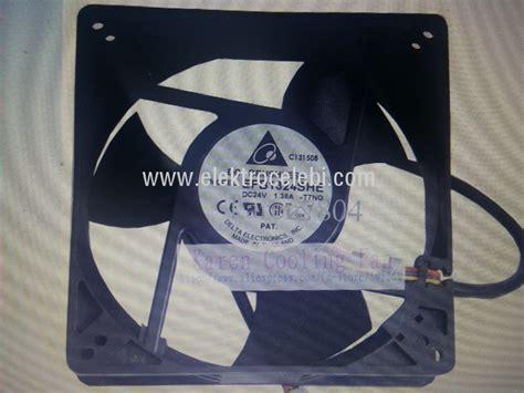 Fan Ac 220 Volt 12 Cm Papst 199 elebi elektronik