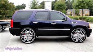 Cadillac Escalade On 30s Whipaddict Cadillac Escalade On 30 Quot Wheels And