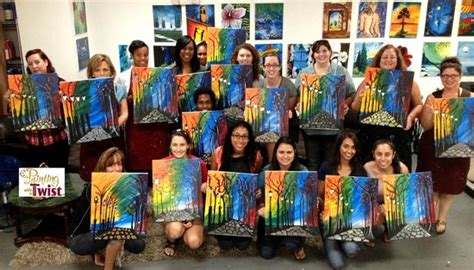 paint with a twist fort lauderdale join the foto di painting with a twist fort