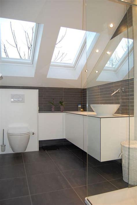 dachausbau badezimmer 9 besten dusche dachschr 228 ge bilder auf