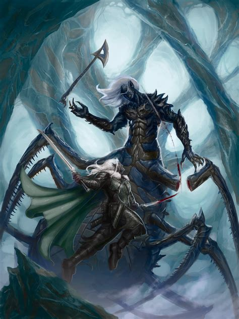 the drizzt 012 forgotten drizzt immar art