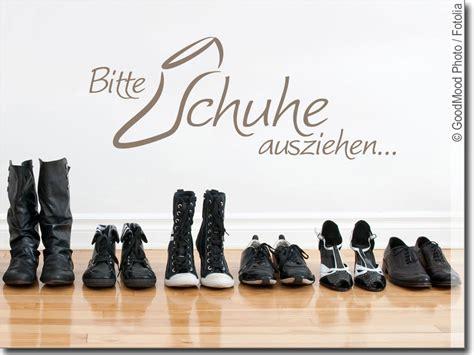 Schuhe Ausziehen by Wandspruch Bitte Schuhe Ausziehen Lustiges Wandtattoo
