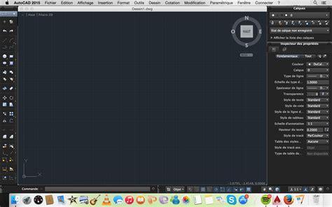 autocad full version for mac autocad 2015 pour mac pas de bar menu 2d et annotation