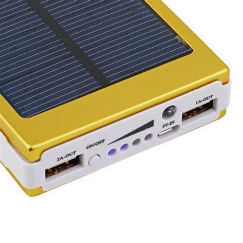 Power Bank Solar Charger portable power bank solar charger dual usb external