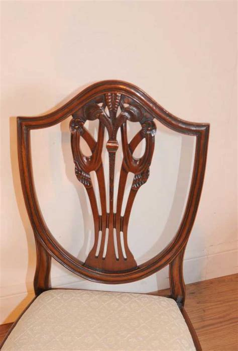 mahogany dining table set mahogany regency dining set table prince wales chairs