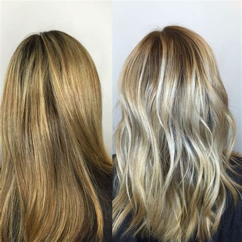 should wash hair before bayalage before after no more foils rinse owner ana transitioned
