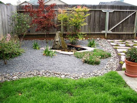 backyard interesting cheap yard ideas simple small