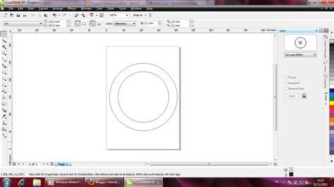 tutorial corel draw bikin logo tutorial coreldraw membuat logo ubuntu hanya dengan trim